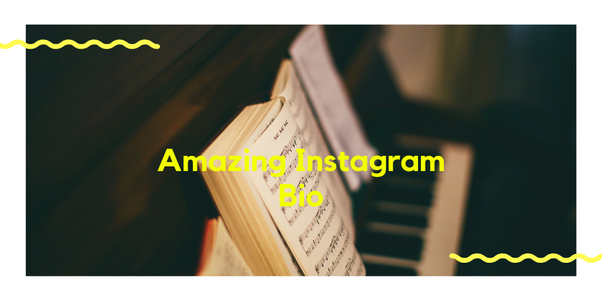 What are some of the amazing Instagram bios? - Quora