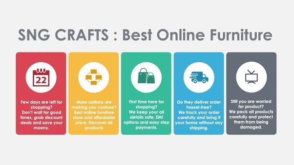 What are the best websites for online furniture shopping for Best online furniture shopping sites in india