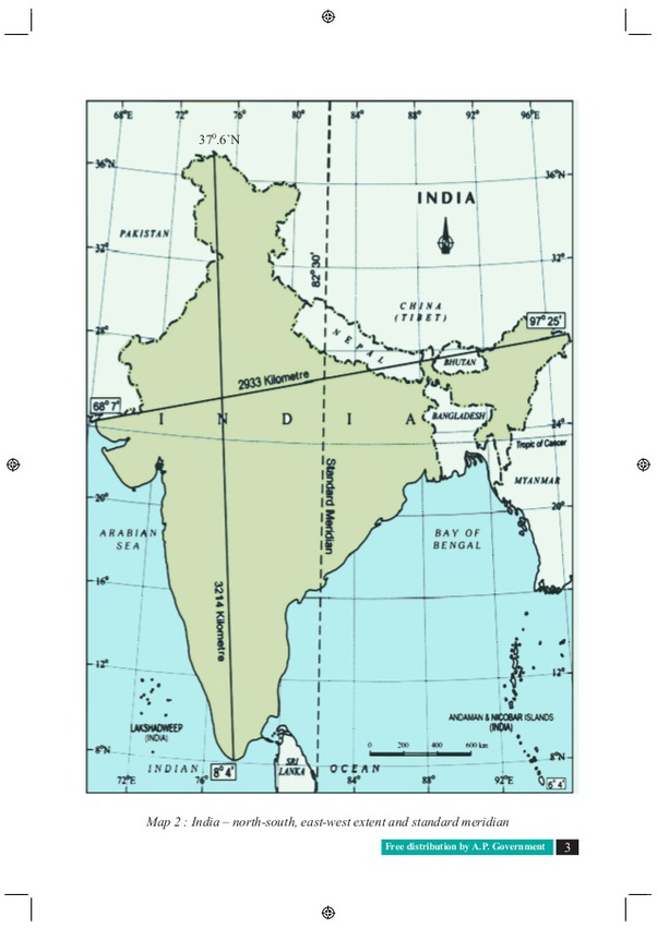 india map with latitude and longitude What Is Latitude And Longitude Extent Of India Quora india map with latitude and longitude
