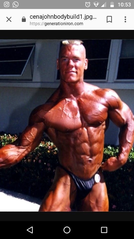 Do wrestlers like John Cena and HHH use steroids? Why ...
