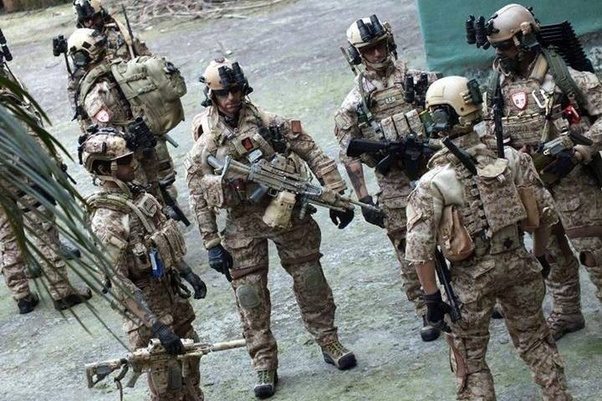 What is the difference between a SWAT team and Military special ...