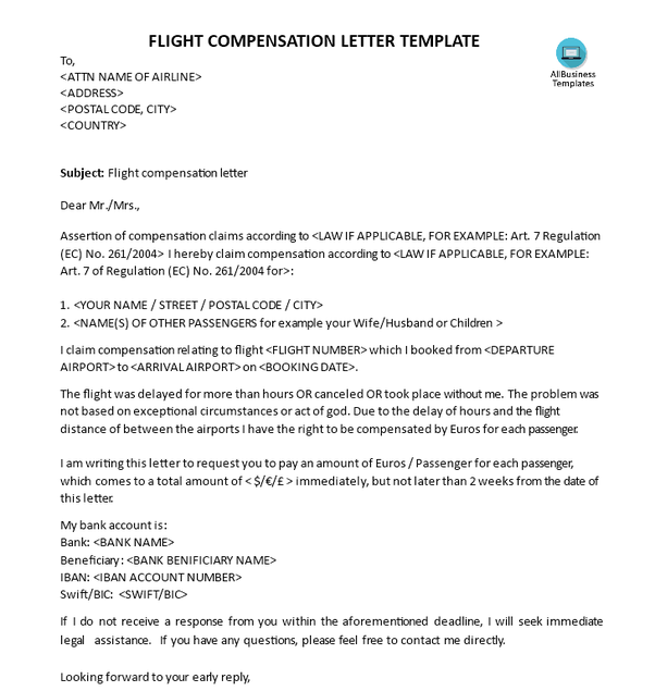 How to get compensation for delayed flight quora if you want a good authorization letter to claim documents check this one flight delay claim letter this way you can quickly modify the text and make it thecheapjerseys Choice Image