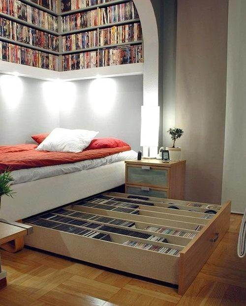 Alcove Or Any Space Like That Can Be Very Useful For Storing Stuff You Even Transform It Into Your Hideaway Work Office Use Box Bed To Store