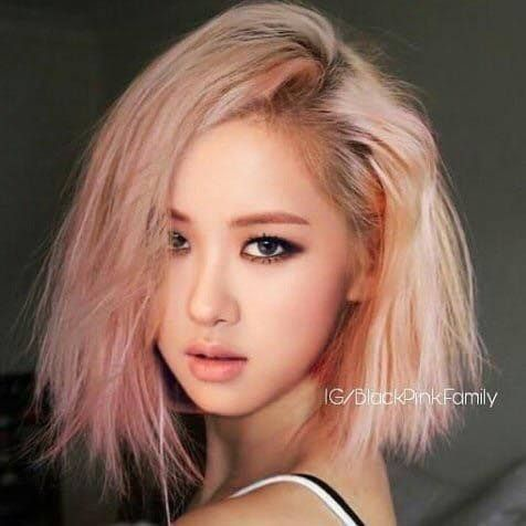 Do you have any hair edits for BlackPink's Rosé? - Quora