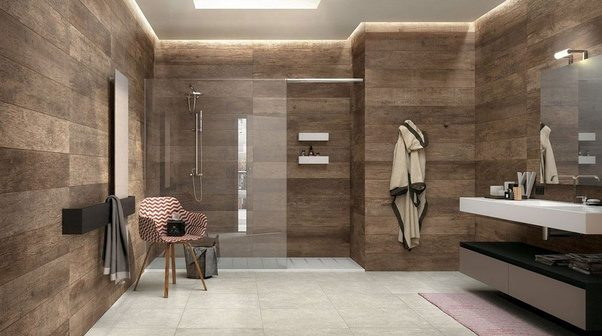 What are good ways to arrange tiles on bathroom walls? - Quora