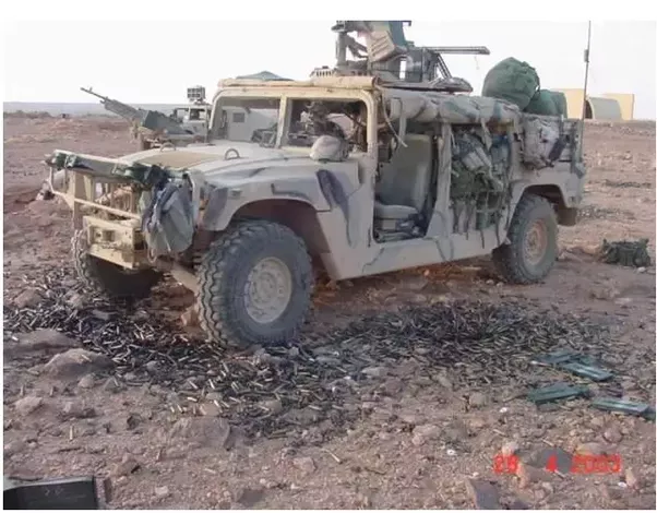 Weapons What Was The Benefit Of Deploying Humvee In The Iraq And