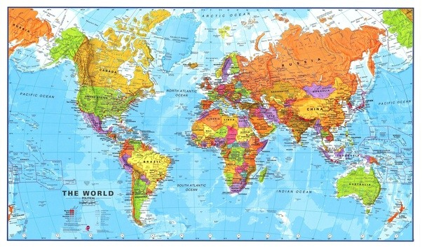 look at the map of the world above australia is located just south of asia we are a western country located within asia and the south pacific ocean