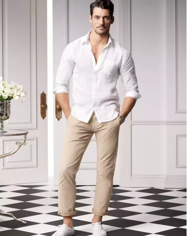 Sexy styles with khaki pants congratulate