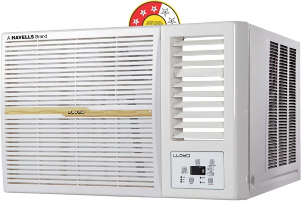 dc73f0f71 Lloyd s 1.5 ton window AC is perfectly designed for a medium sized room. In  terms of energy efficiency