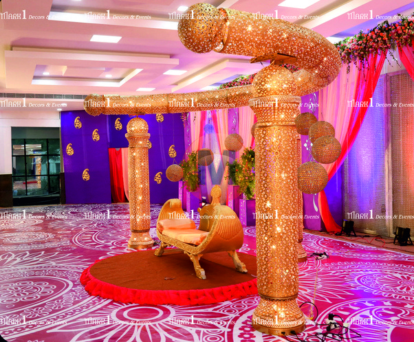 What are some good wedding decorations with tulle quora wedding decors coimbatore wedding planners marriage decorators junglespirit Gallery