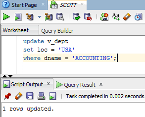 When I update a view in SQL, does my original table get