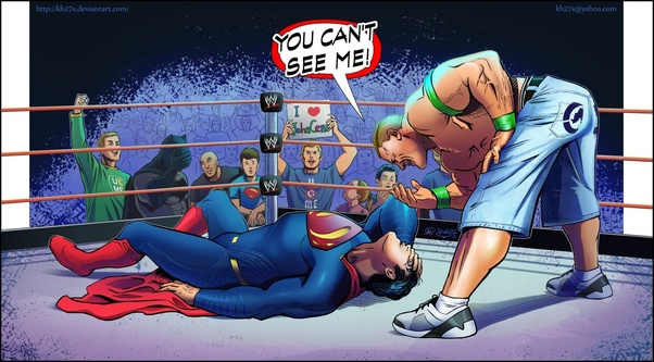 If You Had To Compare Wwe Superstars In A Dc Comic World Who Would
