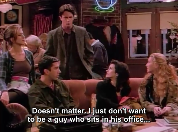 What are some mistakes you noticed on Friends? - Quora