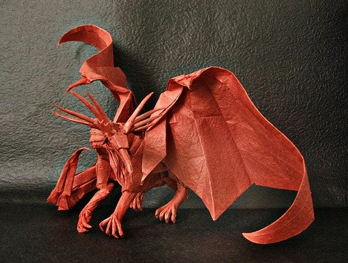 How To Make An Origami Dragon Quora