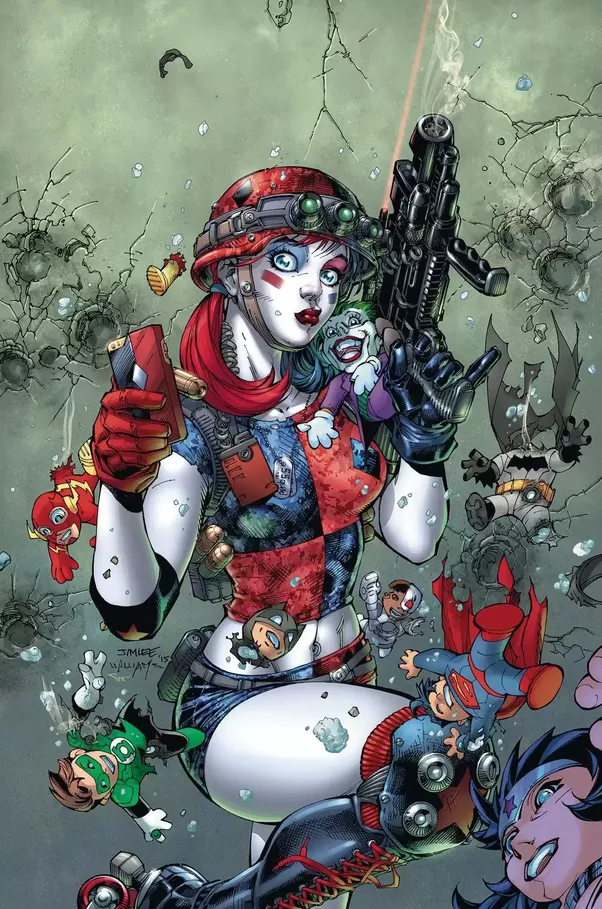 Harley Quinn New 52 Joker