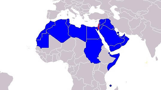 Israel Size: How Does Israel Compare To The Size Of All The Arab