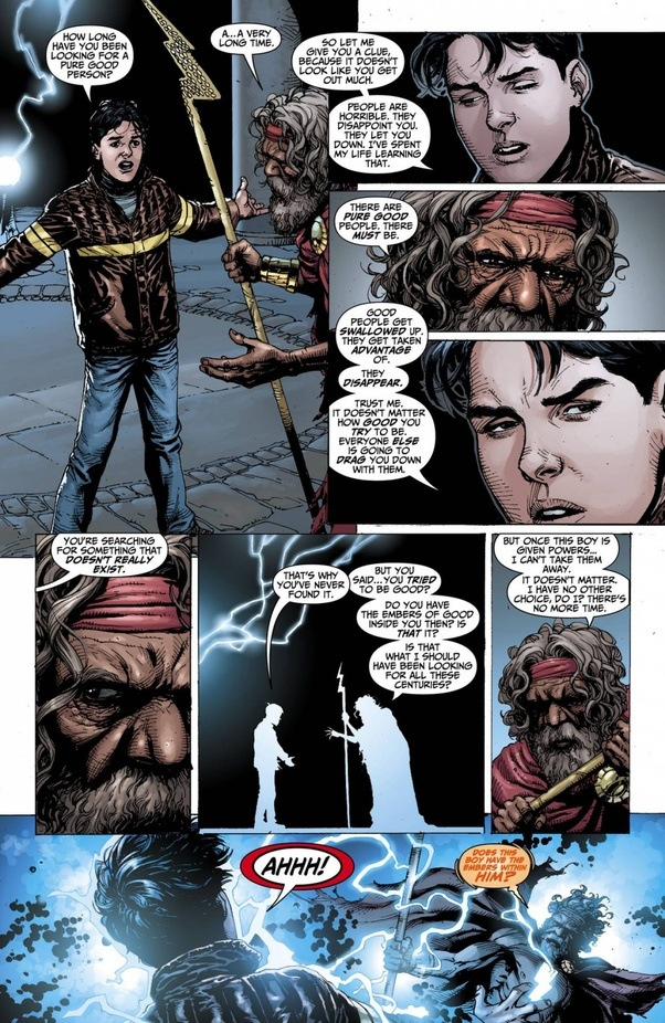 The Wizard Then Dies And Shazam Captain Marvel Billy Batson Is Now Magics Champion Against Black Adam All Those Who Seek To Harm It