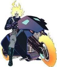 Who is the blue ghost rider? Why is his flame blue? - Quora