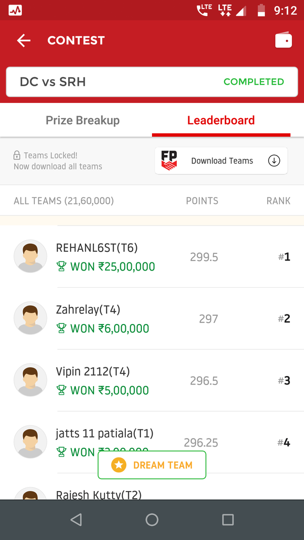How Much Time It Takes To Withdraw Money From Dream11