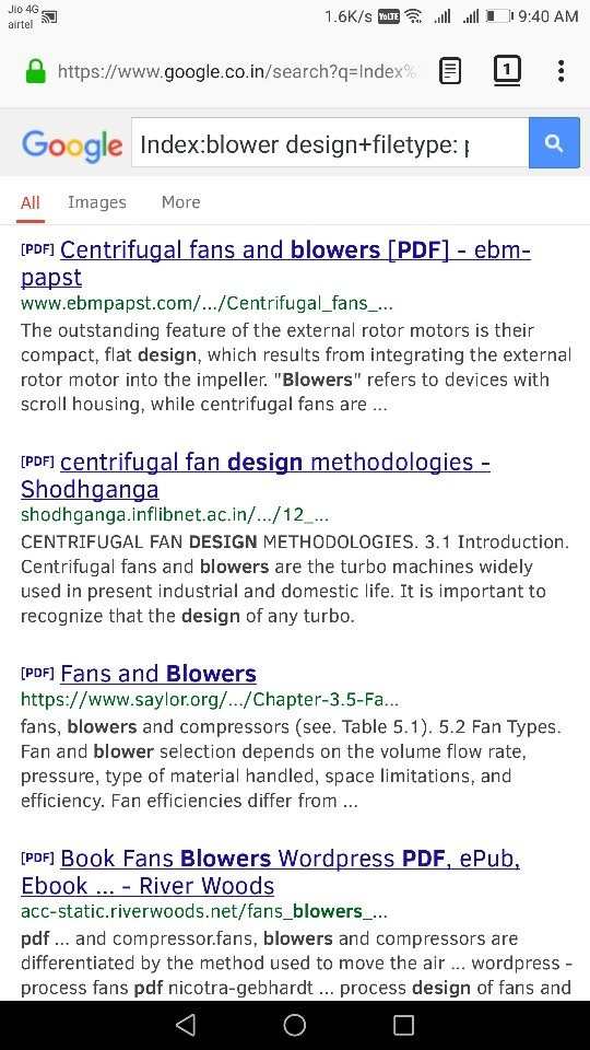 How to get a link for a free ebook for blower design - Quora
