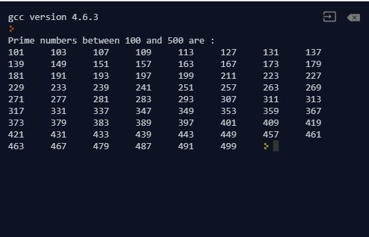 prime number generator algorithm c++