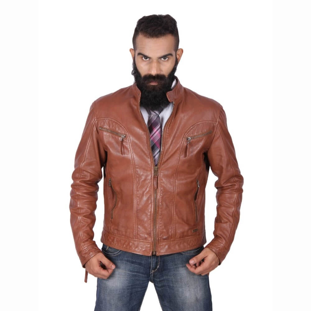 e48824b5b31 I WANT TO BUY A LEATHER JACKET ONLINE IN INDIA. What is the best ...