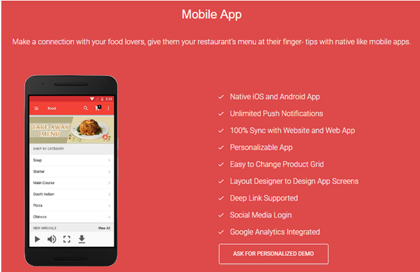 What is the best restaurant mobile app for online ordering
