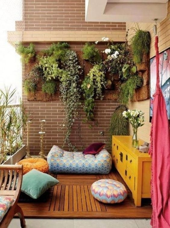 What Are Some Ideas To Convert A Normal Balcony To A Balcony