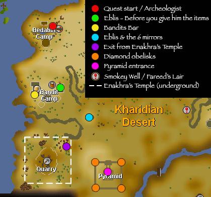 Doing quest Desert Treasure easily in Runescape? - Quora