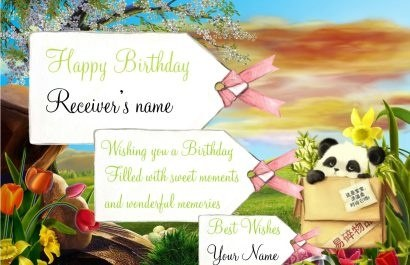 What is the best free online greeting cards service quora for eg if you wanna wish your loved one a happy birthday then do it with you name and the receivers name mentioned in the card m4hsunfo