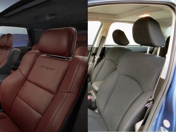Are Leather Car Seats Better Than Cloth Seats Quora