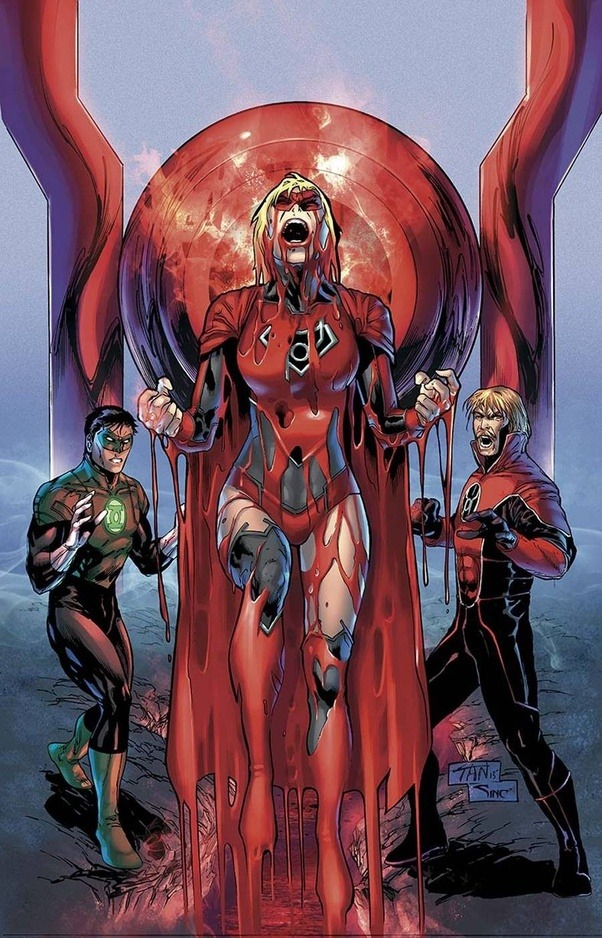 Obviously The Kryptonian In Question Would Have All Powers And Abilities Of Any Other Red Lantern As Well Krytonians