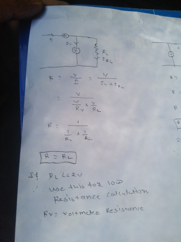 There is a resistor having a resistance of 16 ohms. It is melted and ...