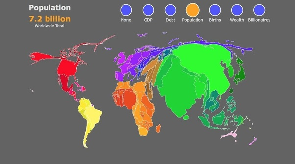 Which Continent Has The Largest Population Quora