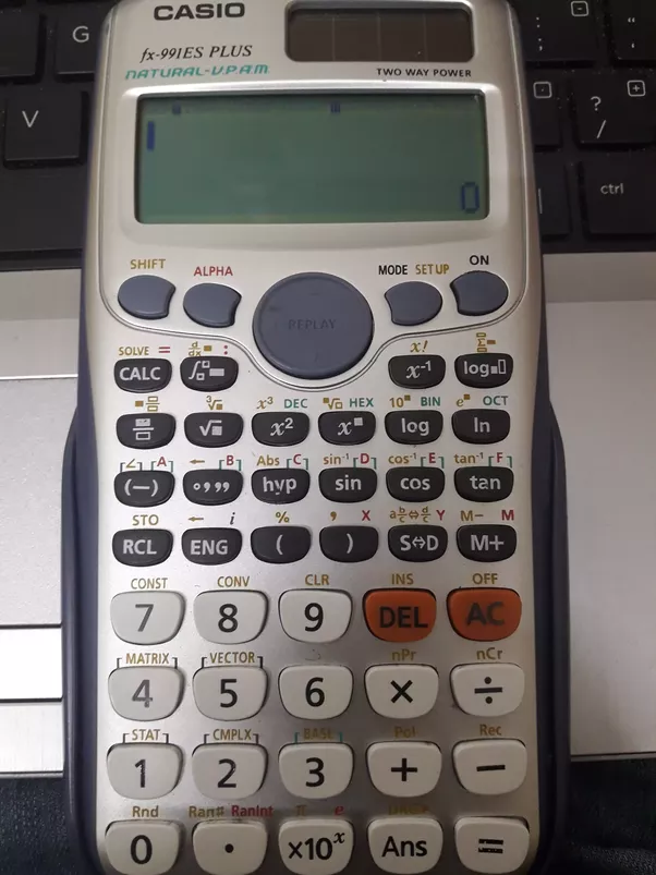 How can one get 100 by typing just three buttons in calculator ...