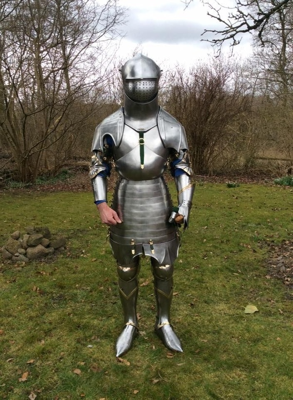Would you like to own/ wear a full suit of fitted medieval ...
