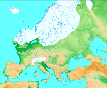 for about 910ths of every hundred thousand years the earth is in a glacial period with large chunks of north america europe and asia heavily iced over