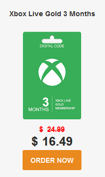 Can I buy an Xbox live gold membership using an Xbox giftcard? - Quora