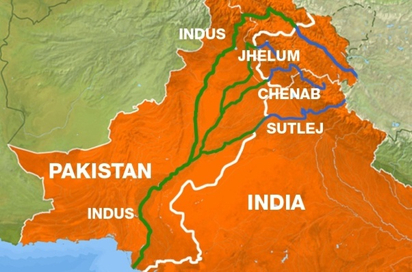 agriculture of this nation depends on the water from indus river even though there is a water sharing treaty between india and pakistan