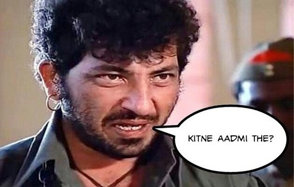 What are some great Bollywood movie dialogues, which either ...