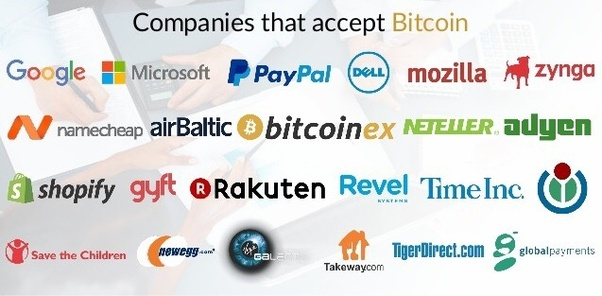 list of companies that accept ethereum