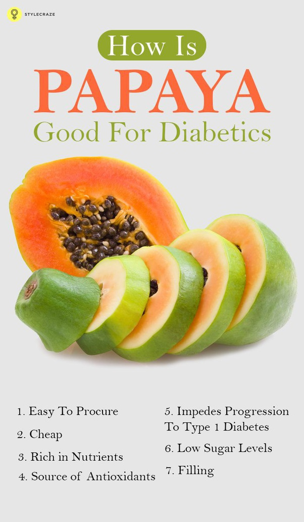 Is Papaya To Be Eaten By A Diabetic Person Quora