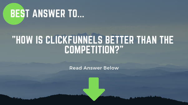 Getting The Clickfunnels Competitors To Work