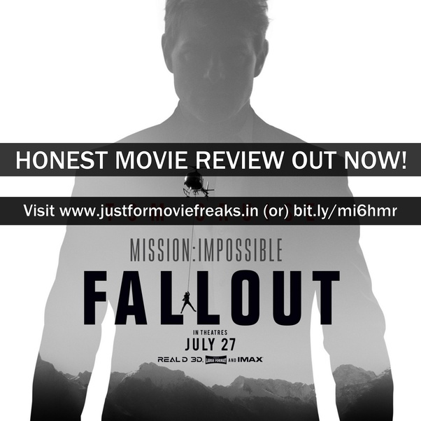 What is your review of Mission: Impossible – Fallout (2018 movie