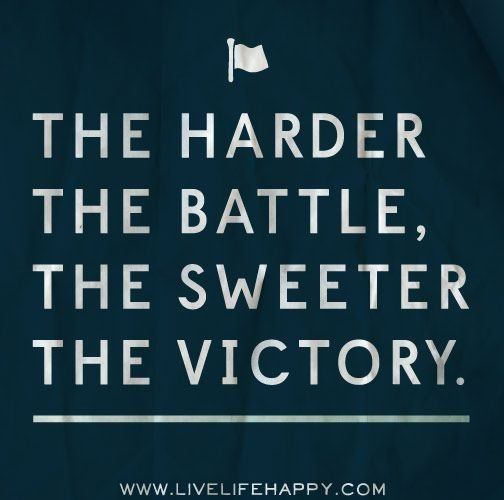 what are some of the best quotes and mottos that speak about victory