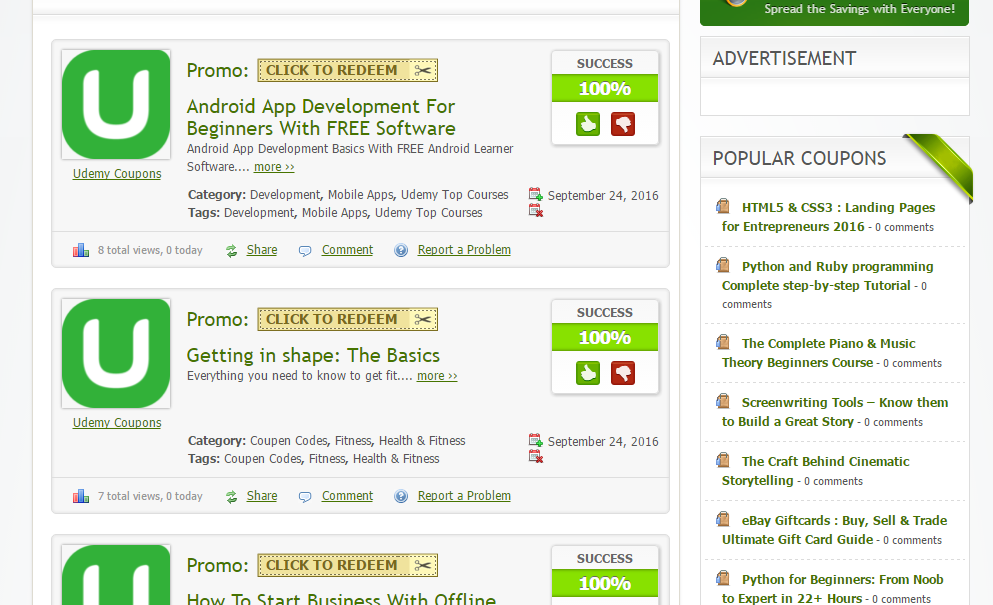How to get Udemy courses for free or at highly discounted
