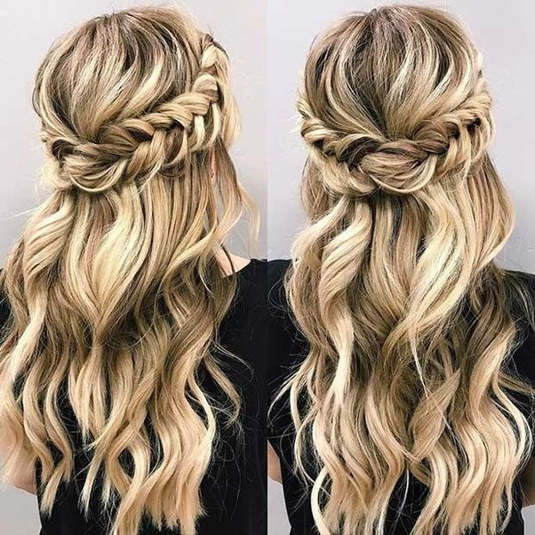 Heart Shaped Princess Braid Hairstyle