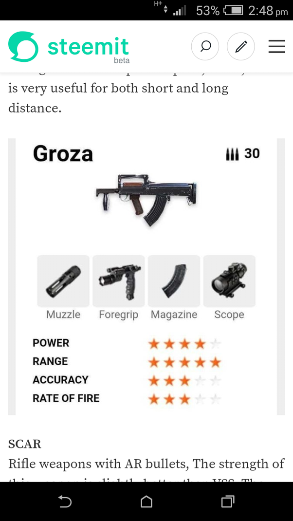 Which Is The Best Gun In Garena Free Fire Quora