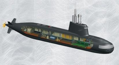 Image result for pics of Project 75i submarine