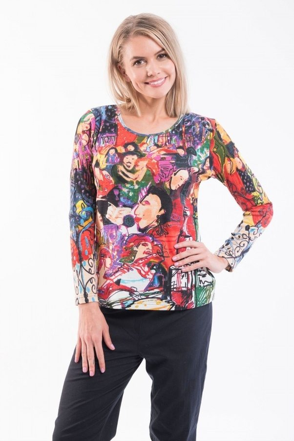 Orientique Fashions is the best women's wholesale online clothing store in  australia. This provides Wholesale Winter T shirts for Women.